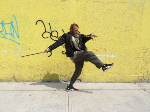 Sesion individual de Fermín experimentando con movimientos para pixilation